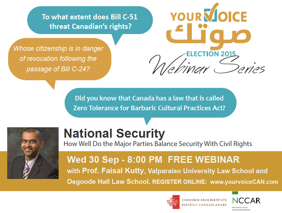 Webinar National Security